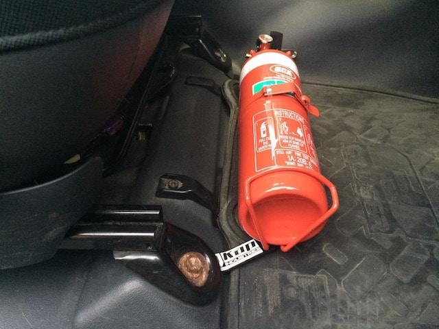 Toyota Fj Cruiser Fire Extinguisher Bracket Kap Industries