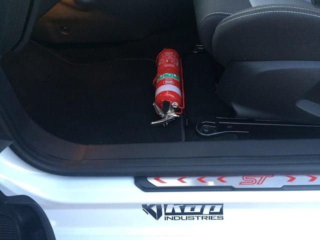 Ford Fiesta Mk 7 Fire Extinguisher Bracket Kap Industries
