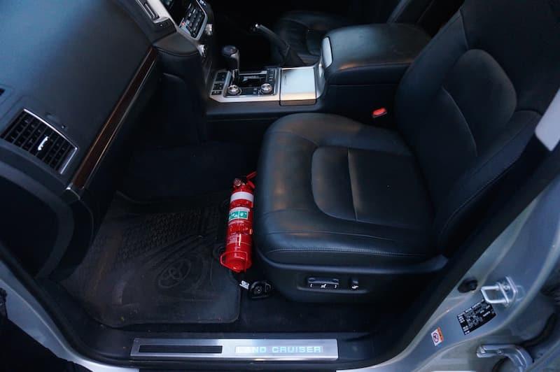 Toyota Landcruiser 200 Series Fire Extinguisher Bracket