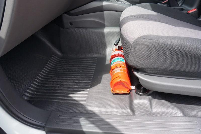 Mitsubishi Triton Fire Extinguisher Bracket