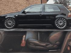 VW Golf MK4 Fire Extinguisher Bracket