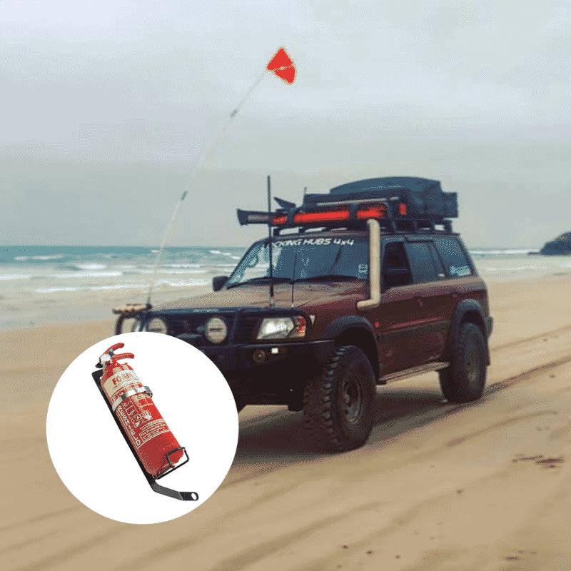 Kap_Industries_Nissan_Patrol_GU_Fire_Extinguisher_Bracket